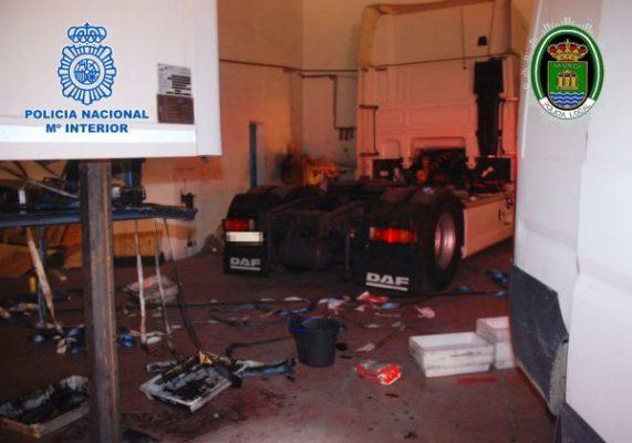 Policía Nacional, El Ejido