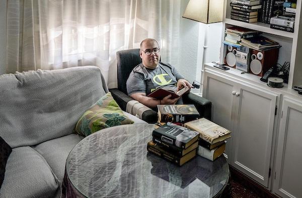 Verdiblanca-Juan José Martínez en casa FOTO de Francisco Lagüera