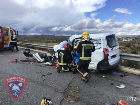 Accidente tráfico A-334