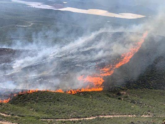 Incendio Cuevas del Almanzora