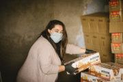 Voluntarios de At-Tawba retoman el reparto de alimentos entre población vulnerable del Poniente de Almería