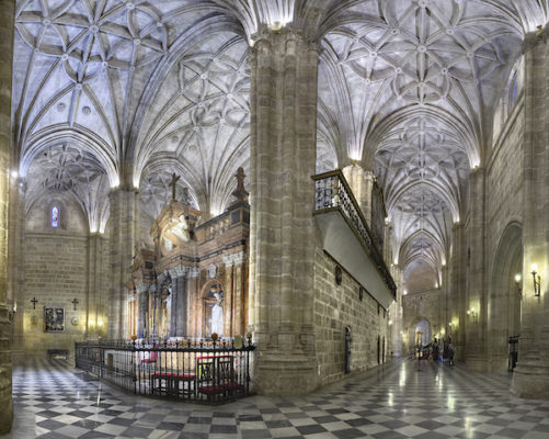 © Domingo Leiva 2. Panorama arcada de la Catedral