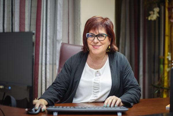 María del Mar García, presidenta del COE Almería
