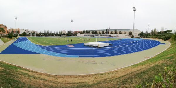Reabre el anexo del Estadio Juegos Mediterráneos y las pistas de tenis Los Molinos