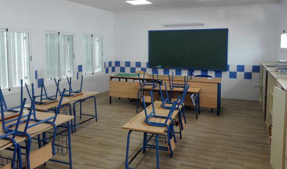 Aula, colegio, escuela