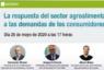 Expertos en agroalimentación analizan online las demandas de los consumidores antes y durante el coronavirus