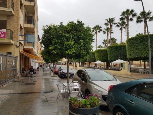 El ayuntamiento cese espacios a las terrazas