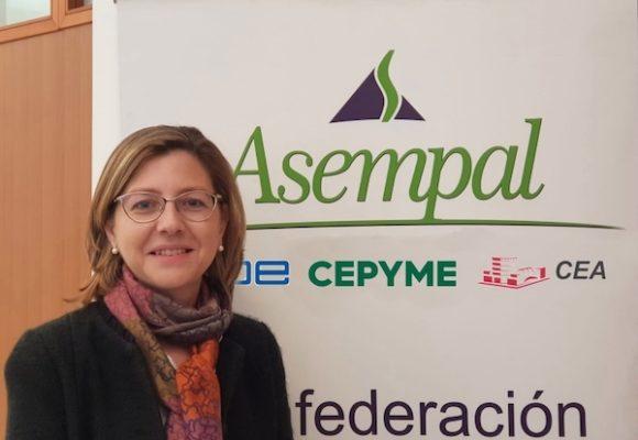 Encarnación Gil, secretaria general Asempal
