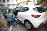 La Guardia Civil detiene a una persona por simular el robo de su vehículo en Mojácar