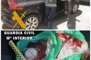 Detenido en Pulpí con 420 dosis de cocaína camufladas en una bolsa de carne cruda