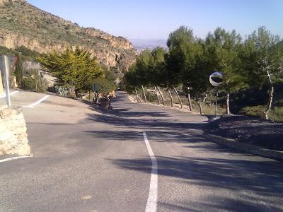 Carretera cortijo grande Turre
