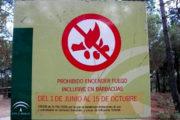 Prohibidas las barbacoas y quemas agrícolas en espacios forestales y áreas recreativas
