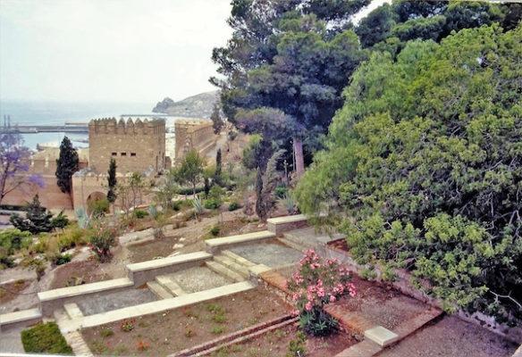 El guardián de la Alcazaba. Desde Mi Ventana (1)