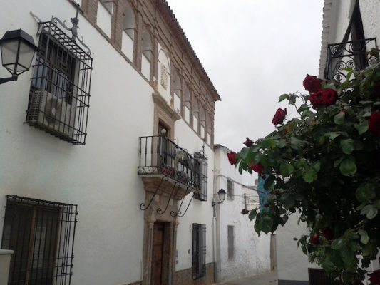 Fachada Palacio de Fondón