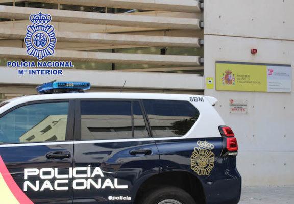 Policía Seguridad Social
