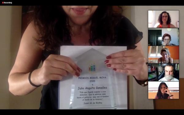 Premio Miguel Moya a Julio Anguita