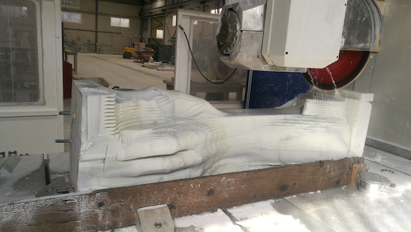 escultura marmol