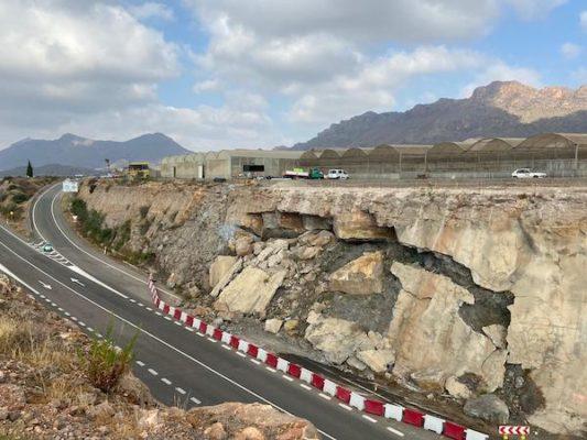 Corte carretera en Pulpí (2)