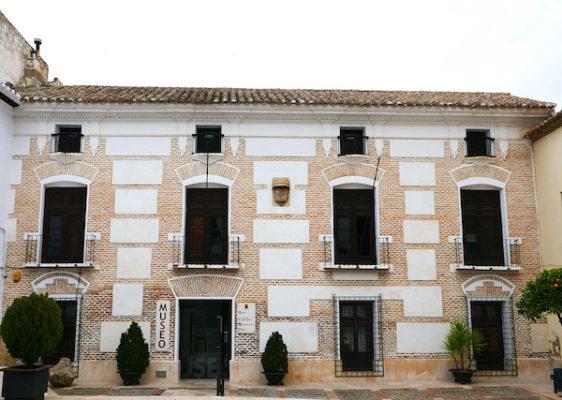Fachada Hospital Real, sede del Museo