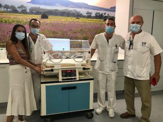 HUT donacion incubadoras