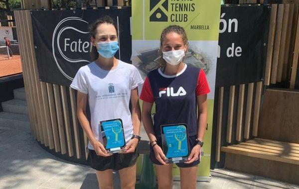 El tenis almeriense brilla gracias a María Dolores López y Encarni García Ávila