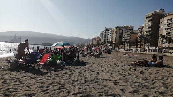 Playa Almería Zapillo