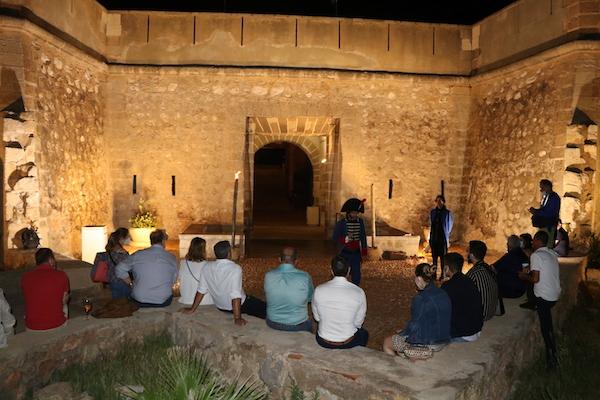 Visita teatralizada Castillo de Guardias Viejas1