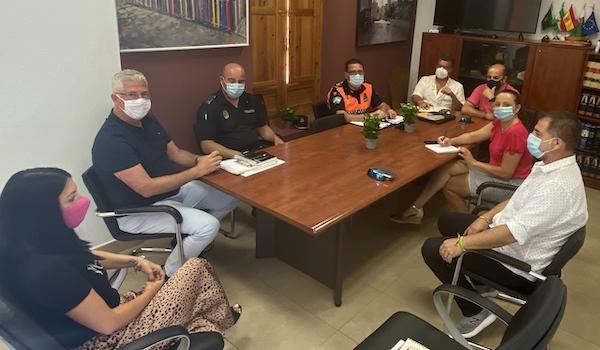 Ismael Torres, con el gabinete de COVID para reforzar medidas de prevención