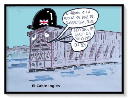 Atrapado en el cable