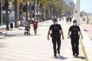 La Policía Local de Almería sanciona a 120 personas por no llevar mascarilla en las últimas tres semanas