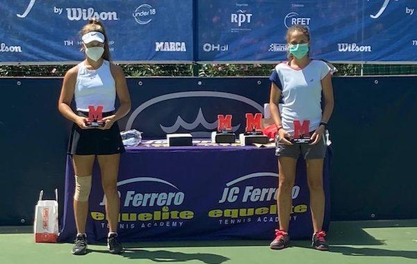 La tenista almeriense María Dolores López se impone en el MARCA Junior Cup disputado en Villena