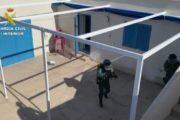 Desmantelada una organización que introducía hachís en el Levante almeriense aprovechando un club de buceo