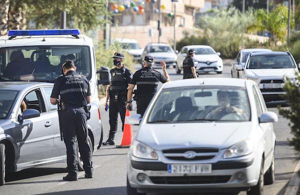 POLICIA LOCAL COVID LOS ANGELES MERCADO CONTROL3