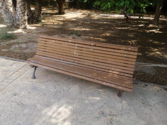 Banco del Parque del Boticario