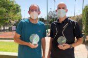 José Miguel Moreno, Antonio Vargas y Miguel Milla, nuevos campeones provinciales de tenis en veteranos