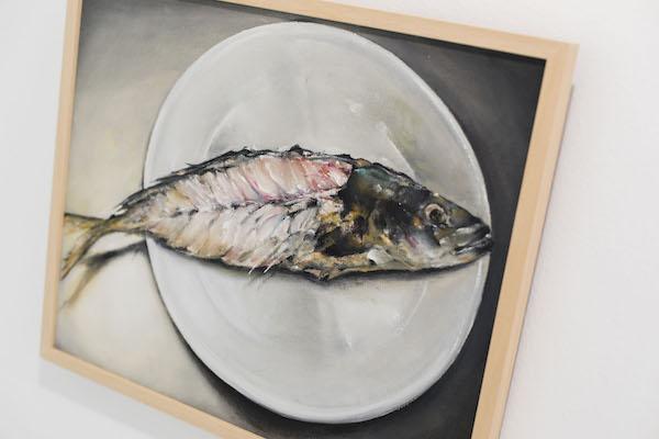 Galería Alfareros recupera su actividad artística con la obra de la pintora local Ana Canteras