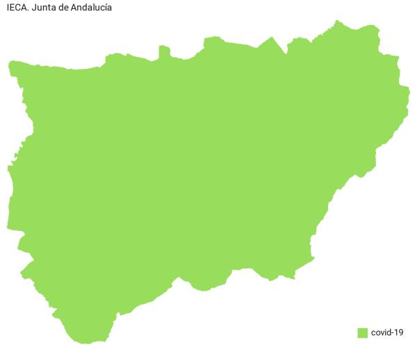Coronavirus en JAÉN: últimos datos publicados de la provincia. Tasa COVID-19 pueblo a pueblo