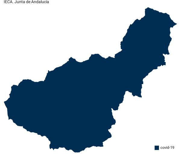 Listado de municipios con el total de positivos en coronavirus y la tasa de cada pueblo de Granada