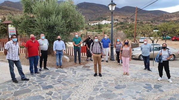 reunión junta directiva amcodes en Almócita