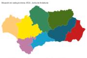 Coronavirus en cada uno de los pueblos de Almería, Jaén, Granada, Málaga, Córdoba, Sevilla, Cádiz y Huelva