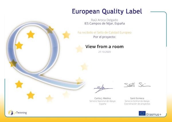 Sello de Calidad Europeo 1