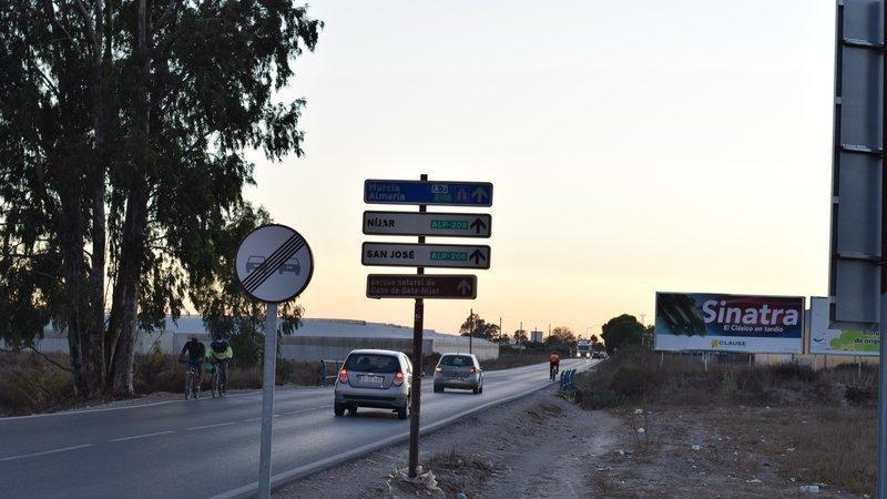 carretera Níjar