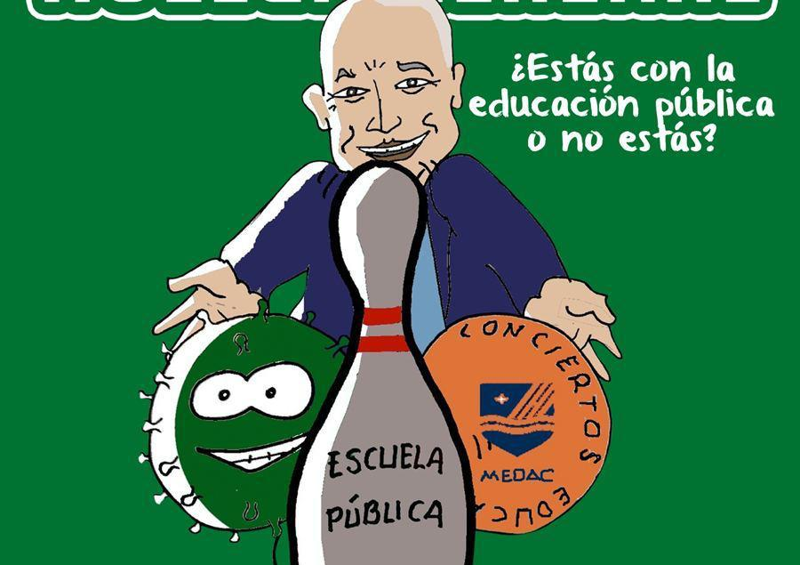 huelga educación