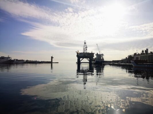 plataforma petrolífera Ocean Confidence