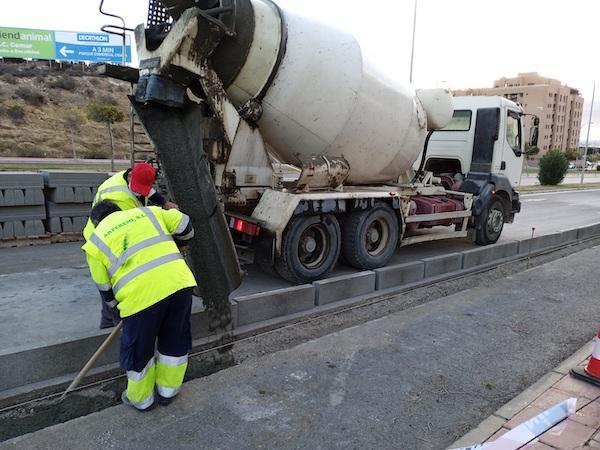Obras Carril Bici conexión Almería y Huércal 2