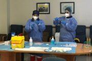 Usuarios y trabajadores de la residencia 'Ciudad de El Ejido' reciben la segunda dosis de vacunación contra la covid-19