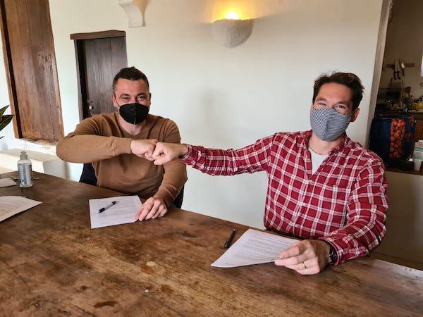 Firma convenio Ayto Chirivel