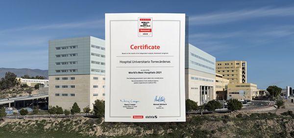 HUT certificado best hospital newsweek (2)