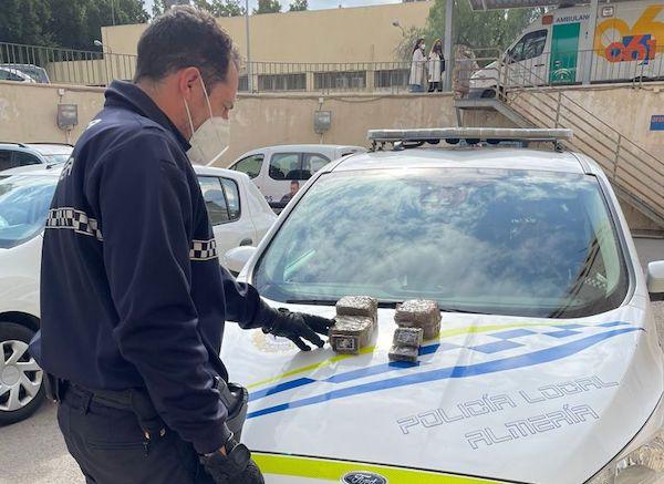 INCAUTACIÓN MARIHUANA POLICIA LOCAL 2