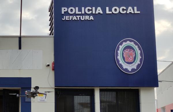 dron policía local Huercal Overa